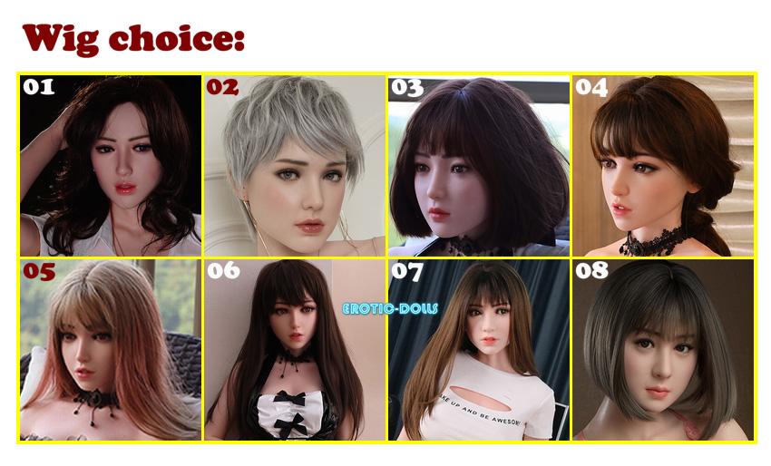 Gynoid wig choice option EN