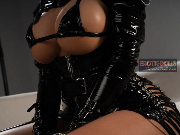 Sex doll Helma in leather suit 07