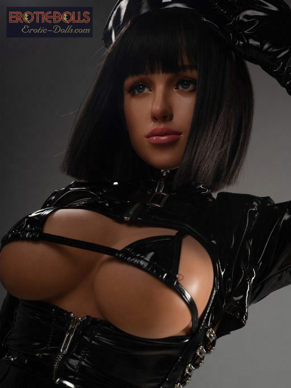 Sex doll Helma in leather suit 16