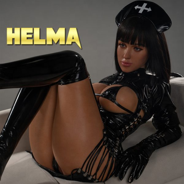 Sex doll Helma in leather suit basic